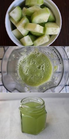 Soothing Cucumber Eye Gel | DIY Stuff
