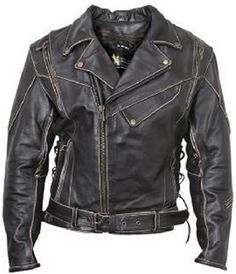 Kingdom Leather New Men Quilted Leather Jacket Soft Lambskin Biker Bomber X686