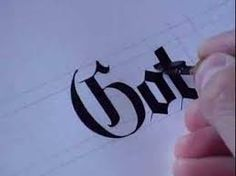 Image result for gothic calligraphy