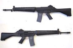 British-Singaporean SAR-80 assault rifle