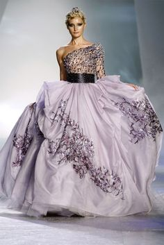 chiffon and ribbons by Zuhair Murad