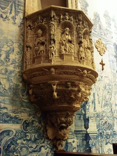 Púlpito da Igreja de Santa Cruz- Coimbra