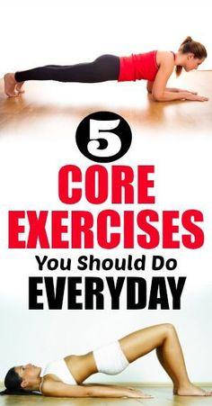 5 Daily Core Workouts For Everyone – Medi Idea