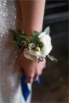 Wedding wrist corsage - A Decadent, Gold Luxe Bridal Shoot…