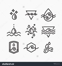 Image result for water symbol tattoo