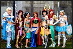 Vancouver AniRevo 2014 Cosplay - BATTLE ARMOR DISNEY PRINCESSES