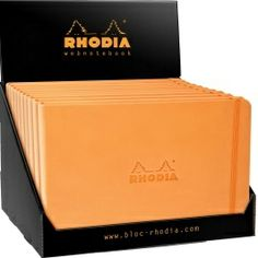 Rhodia #Webnotebook #Landscape in orange