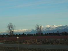 2013  snow capped mountain Chilliwack BC