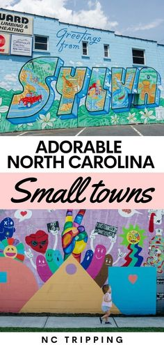 North Carolina has some incredible small towns! Explore these NC small towns and add them to your travel bucket list! #travel #NC #NorthCarolina #familytravel