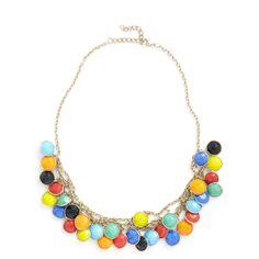 Catch a Glint Necklace ($30) ❤ liked on Polyvore
