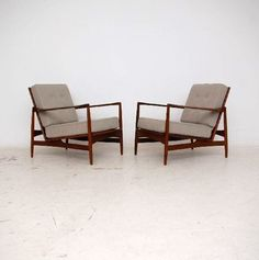 Retro Teak G-Plan armchairs...thanks Gran :)