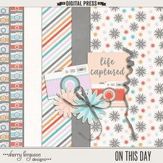 FREE DigiScrap Parade Aug 2016 Hop : On This Day by Sherry Ferguson Designs