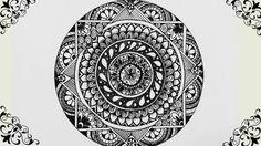 How to Draw : Mandala ❤ https://www.youtube.com/watch?v=mojdPsqNxUw