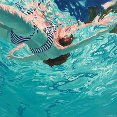 """Samantha French, lm, 30x30"""", Oil on canvas, 2014 -  Sold"""