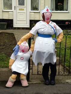 Nurse Scarecrow