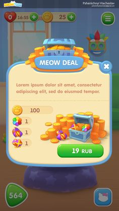 ArtStation - UI and art for mobile game, Viacheslav Pshenichnyi Ar Game, Game Gui, Game Icon, Cute Games, Mini Games, Baby Games, Button Game, Game Ui Design, Game Props