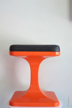 Rare Luigi Colani Space Age Plastic Stool for Sulo Caroline Productions on Etsy, $300.00