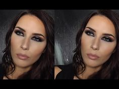 Mandy-Lee - Metallic Party Look Makeup Tutorial. - YouTube