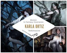 Interview with artist Karla Ortiz on KiriLeonard.com - Click image to read. #Illustration #ConceptArt #ArtistInterview #WomenArtists #MtG