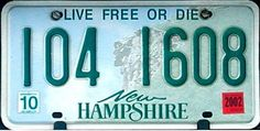 New Hampshire - Live Free or Die