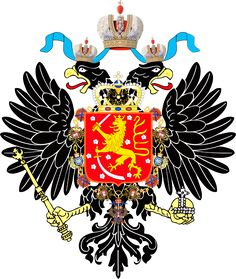 orange Coat of Arms of Finland Quick History Finland was an Autonomous Grand Principality in the Russian Empire beginning . History Of Finland, Imperial Eagle, Baby Animals Pictures, Family Crest, Crests, Roman Empire, Coat Of Arms, Sleeve Tattoos, Nostalgia
