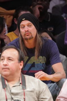 Kid Rock Kid Rock attends a game between the Oklahoma City Thunder and ...