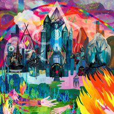 My artwork for P for Persia and Speak Galactic's split albumAegis Arctic Alp. It sounds great, and the vinyl is a beautiful transparent purple, so go, go, go and buy a copy here; http://beatabet.bandcamp.com/album/aegis-arctic-alp