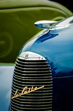 1940 Lasalle Series 52 Hood Ornament  - Car Images by Jill Reger..Re-pin brought to you by agents of #Carinsurance at #HouseofInsurance in Eugene, Oregon