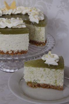 Tarun Taikakakut: Raparperi-valkosuklaajuustokakku (18cm) Cheesecakes, Vanilla Cake, Baking, Desserts, Inspiration, Dog, Tailgate Desserts, Biblical Inspiration, Deserts