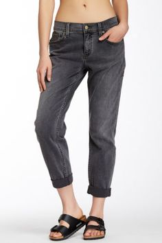 $127 NEW Level 99 Sienna Tomboy Boyfriend Fit Jean in Anwen Grey Wash - Size 27 in Clothing, Shoes & Accessories, Women's Clothing, Jeans | eBay