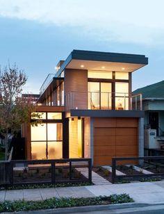Emeryville Residence - contemporary - exterior - san francisco - Moderna Homes, Inc.