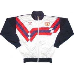 1989-90 Manchester United Track Jacket S