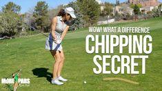 Girls Golf, Ladies Golf, Short Game Golf, Crazy Golf, Crazy Crazy, Golf Chipping Tips, Volleyball Tips, Golf Putting Tips, Golf Videos