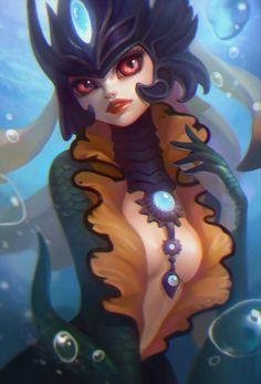Nami, Anna Maystrenko on ArtStation at http://www.artstation.com/artwork/nami-f061f24d-86fa-4a85-93ca-c293edcde53d