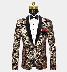 All Black Tuxedo, Maroon Tuxedo, Purple Tuxedo, Modern Tuxedo, Classic Tuxedo, Tuxedo For Men, Stylish Prom Suits, Prom Suits For Men, Gold Tuxedo Jacket