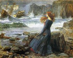 Miranda The Tempest by John William Waterhouse