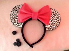 Minnie Mouse Ears DIAMOND YEAR EDITION by CrazyBeautifulCreati