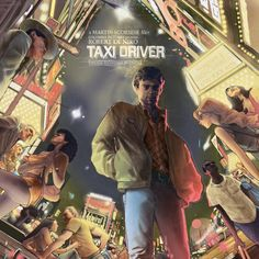 Taxi Driver by Rich Kelly Original Soundtrack Album by Waxwork Records