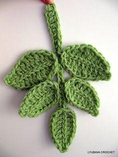 "Crochet Scarf Tutorial Pattern, PDF Green Chunky Infinity Crochet Scarf ""Chunky Popcorn Stitch"", Lyubava Crochet Pattern number 53. via Etsy."