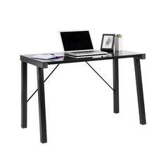 MALVIN Office Desk (Black)