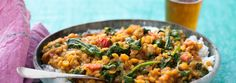 Curried Lentils and Vegetables with Basmati Rice #Vegetarian