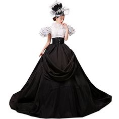 Partiss Damen Gothic Lolita Retro Style Prom Victorian Co... https://www.amazon.de/dp/B01ISJ2S1I/ref=cm_sw_r_pi_dp_usgKxbSRWQ7QH
