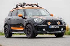 The partnership between MINI Motorsport and the X-RAID rally team continues in 2020 with a new MINI Countryman model. According to a press release iss. New Mini Countryman, Cooper Countryman, Mini Cooper Custom, Rally Dakar, Adventure Gear, Lift Kits, Car Travel, Wheels And Tires, Roof Rack
