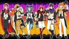 すとぷり Anime Halloween, Anime Best Friends, Drawing Clothes, Vocaloid, Boy Or Girl, Anime Art, Prince, Kawaii, Animation