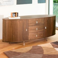 Oval sideboard  Dwell