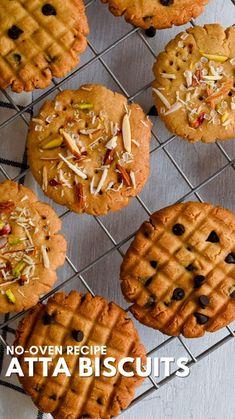 Fun Pizza Recipes, Fun Baking Recipes, Snack Recipes, Cooking Recipes, Eggless Cookie Recipes, Indian Dessert Recipes, Cookies, Kunal Kapoor, Baking Courses