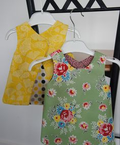 e45bc8081ca Easy reversible baby dresses