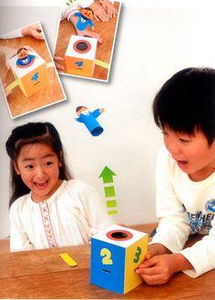 バーをどこかの穴に入れると人形が飛び出す ドキドキチャレンジ Science Projects, Projects For Kids, Diy For Kids, Crafts For Kids, Japan Crafts, Science For Kids, Paper Toys, Drawing For Kids, Diy Toys