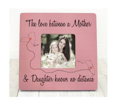 Mothers Day Gift for Mom Picture Frame by BrandonScottAD on Etsy