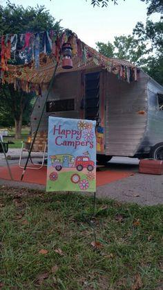 Pearl 65 little gem vintage camper #vintage #camping ##vintagecamper